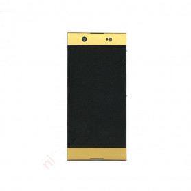 Ecran vitre tactile avec lcd Sony Xperia XA1 GOLD