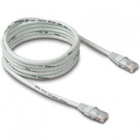 Câble réseau RJ45 Catégorie 6 FTP (F/UTP) Droit 15m (Blanc)