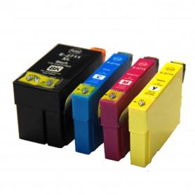 Pack de 4 cartouches compatibles Epson T27