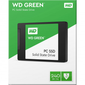 Disque Dur SSD Western Digital Green 240 Go S-ATA