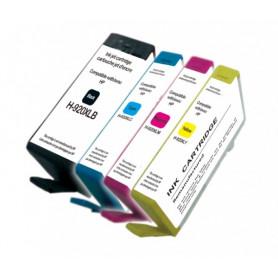 Pack 4 cartouches remanufacturées HP 920 XL UPRINT
