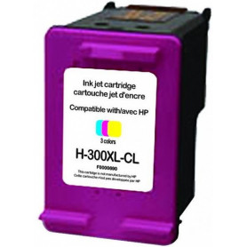 HP 300 cartouche d'encre couleur Remanufacturée UPRINT