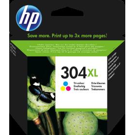 HP 304XL cartouche d'encre trois couleurs originale