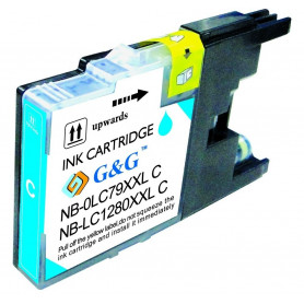 Cartouche compatible Brother LC1280 CYAN