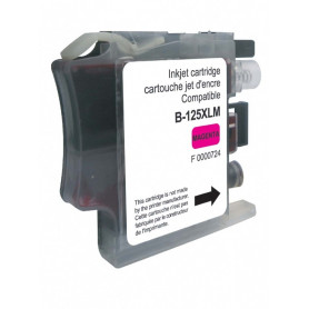 Cartouche compatible Brother LC125XL MAGENTA