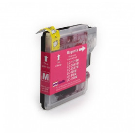 Cartouche compatible Brother LC1100-980 MAGENTA