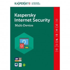 Kaspersky Internet Security 3 PC 1 an Renouvellement