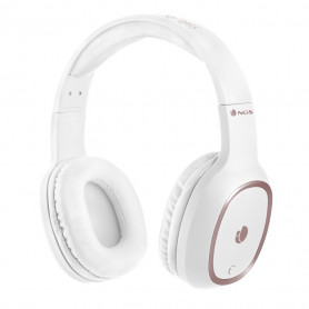 Casque Micro Bluetooth NGS Artica Pride (Blanc)