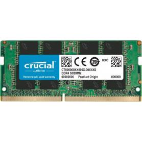 Barrette mémoire RAM SODIMM DDR4 4096 Mo (4 Go) Crucial...