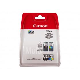 Pack 2 cartouches originales Canon 560/561 NOIR et COULEUR