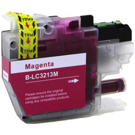 ALTERNATIF Brother LC3213M - Cartouche d'encre Magenta