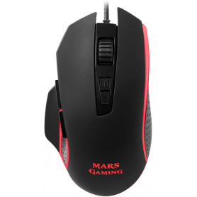 Souris filaire Gamer Mars Gaming MM018 RGB (Noir)