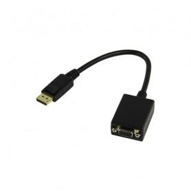 Convertisseur DisplayPort M vers VGA femelle (D-sub...
