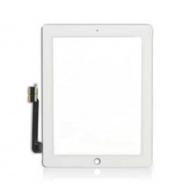 Vitre tactile Apple Ipad 4 Blanc