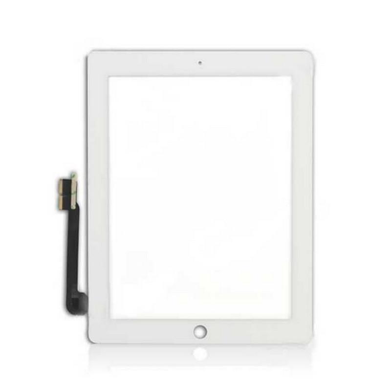 Vitre tactile Apple Ipad 4 Blanc