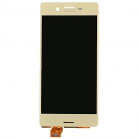 Ecran vitre tactile avec lcd Sony Xperia X Gold