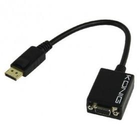 Adaptateur DisplayPort vers VGA femelle