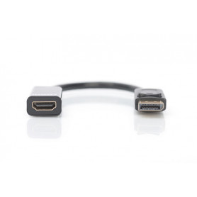 Câble adaptateur Digitus DisplayPort mâle 1.2 vers HDMI...