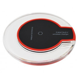Chargeur à induction 1.0 A Rouge