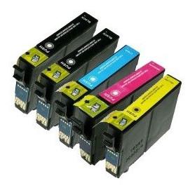 Pack 5 cartouches compatibles Epson T1285