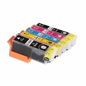 Pack 5 cartouches compatibles Epson T2636