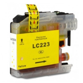Cartouche compatible Brother LC223 JAUNE