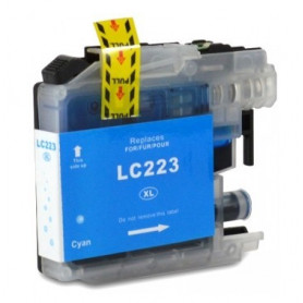 Cartouche compatible Brother LC223 CYAN
