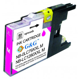 Cartouche compatible Brother LC1280 MAGENTA