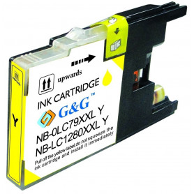 Cartouche compatible Brother LC1280 JAUNE