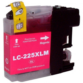 Cartouche compatible Brother LC225 MAGENTA UPRINT
