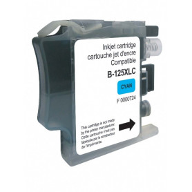 Cartouche compatible Brother LC125XL CYAN