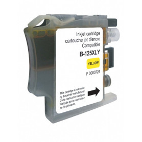Cartouche compatible Brother LC125XL JAUNE