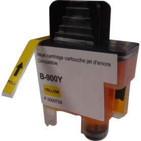 Cartouche compatible Brother LC900 JAUNE UPRINT