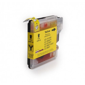 Cartouche compatible Brother LC1100-980 JAUNE