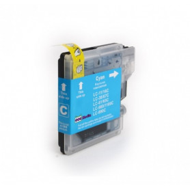 Cartouche compatible Brother LC1100-980 CYAN