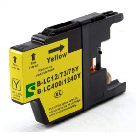 Cartouche compatible Brother LC1240 JAUNE