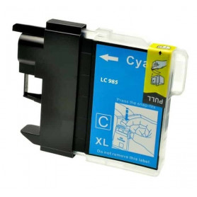 Cartouche compatible Brother LC985 CYAN