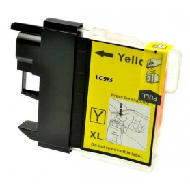 Cartouche compatible Brother LC985 JAUNE