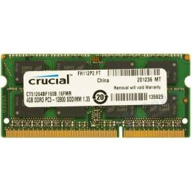 Barrette mémoire RAM SODIMM DDR3L 4096 Mo PC12800 1600 Mhz