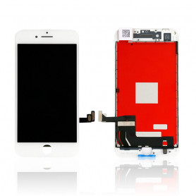 Ecran vitre tactile avec lcd Iphone 8 Blanc