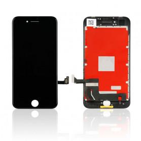 Ecran vitre tactile avec lcd Iphone 8 Noir