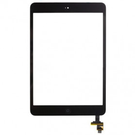 Vitre tactile Apple Ipad Mini Noir