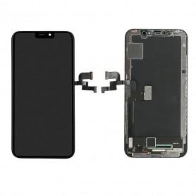 Ecran vitre tactile OLED avec lcd Iphone X Noir
