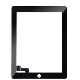 Vitre tactile Apple Ipad 2 Noir