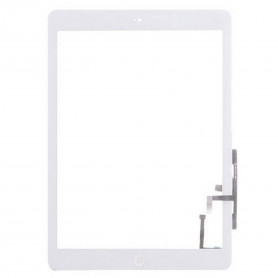 Vitre tactile Apple Ipad Air Blanc