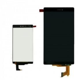 Ecran Lcd et vitre tactile Huawei Ascend P8 Noir